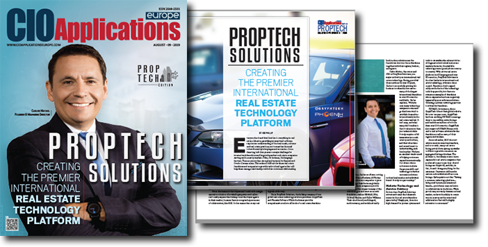 GryphTech recognized as a Top 10 PropTech Solution Provider