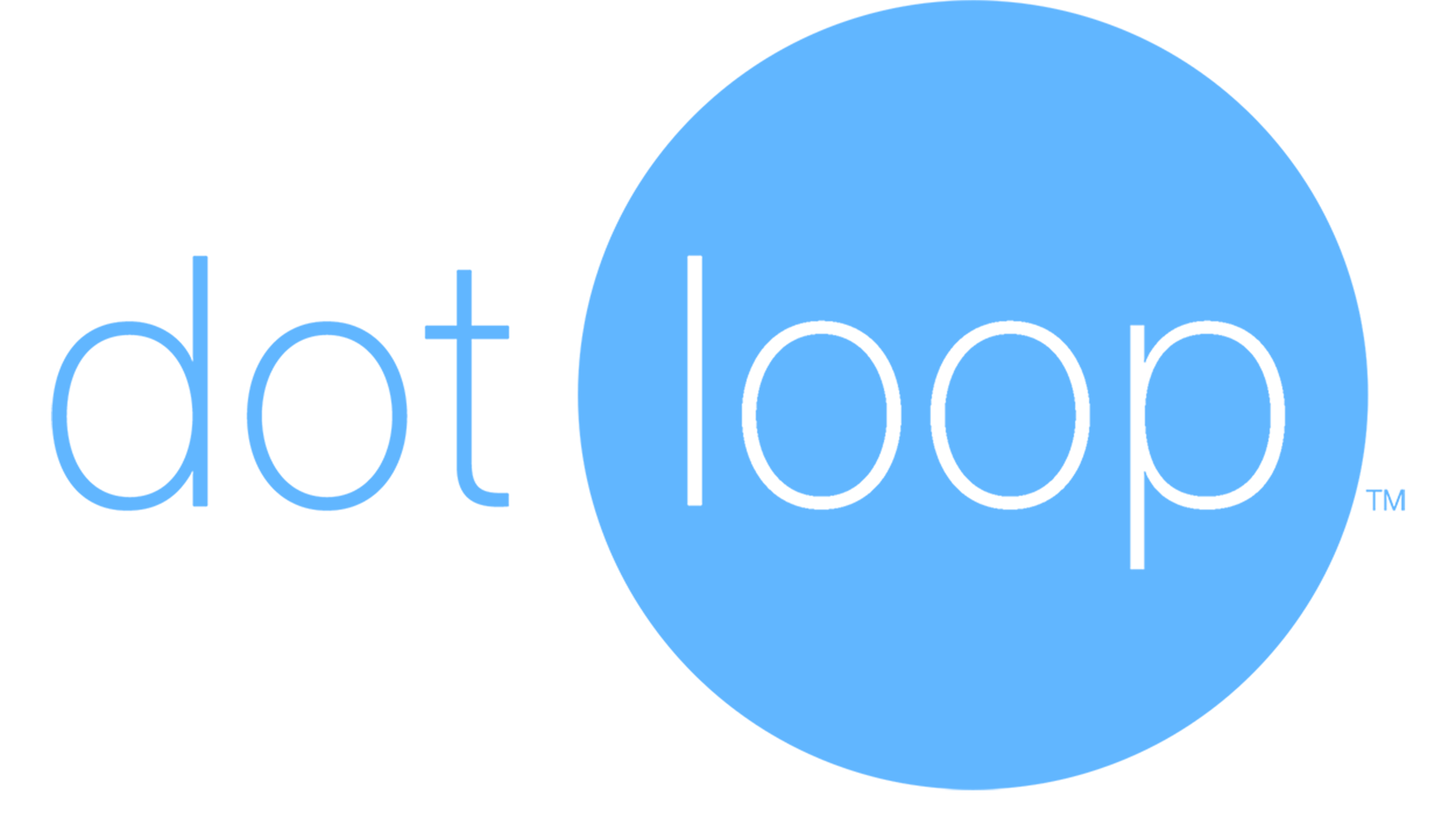 dotloop logo - blue HR 300